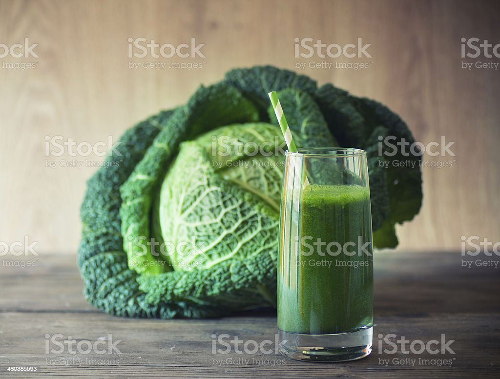 Kale Smoothie stock photo