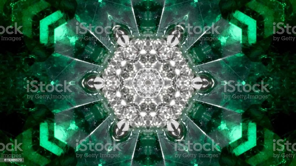 kaleidoscope nature stock photo