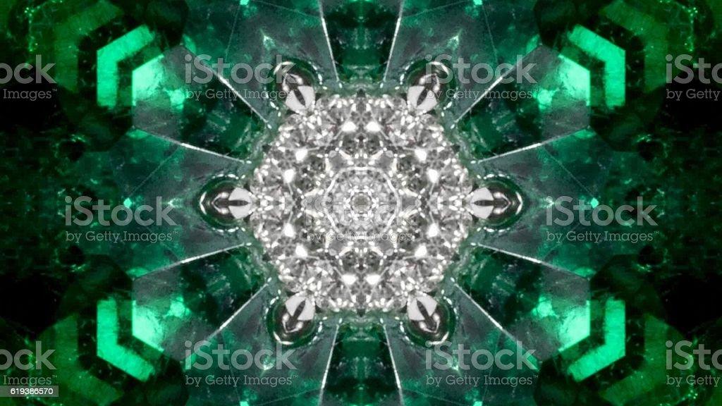 kaleidoscope nature stock photo