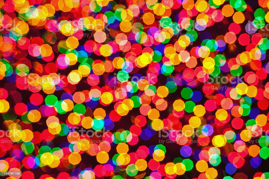 kaleidoscope of lights royalty-free stock photo