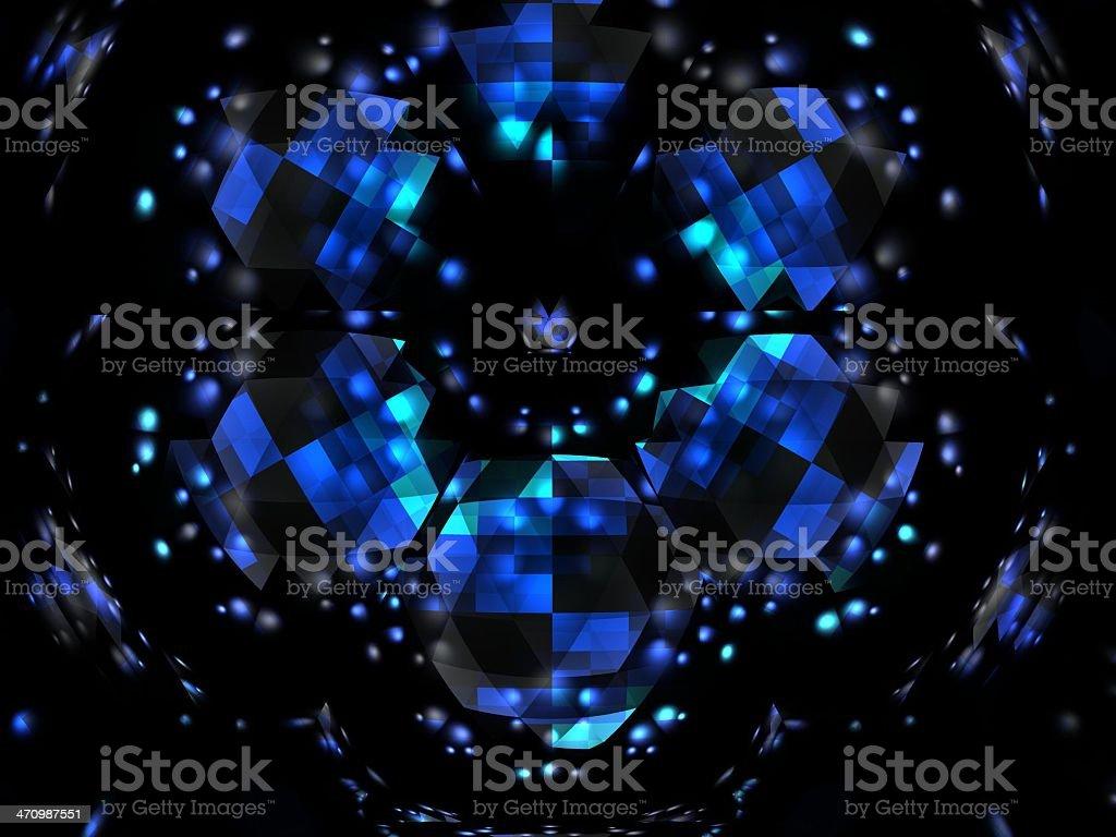 Kaleidoscope (08) royalty-free stock photo