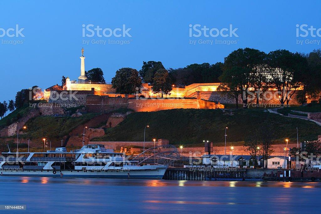 Kalemegdan Fortress stock photo