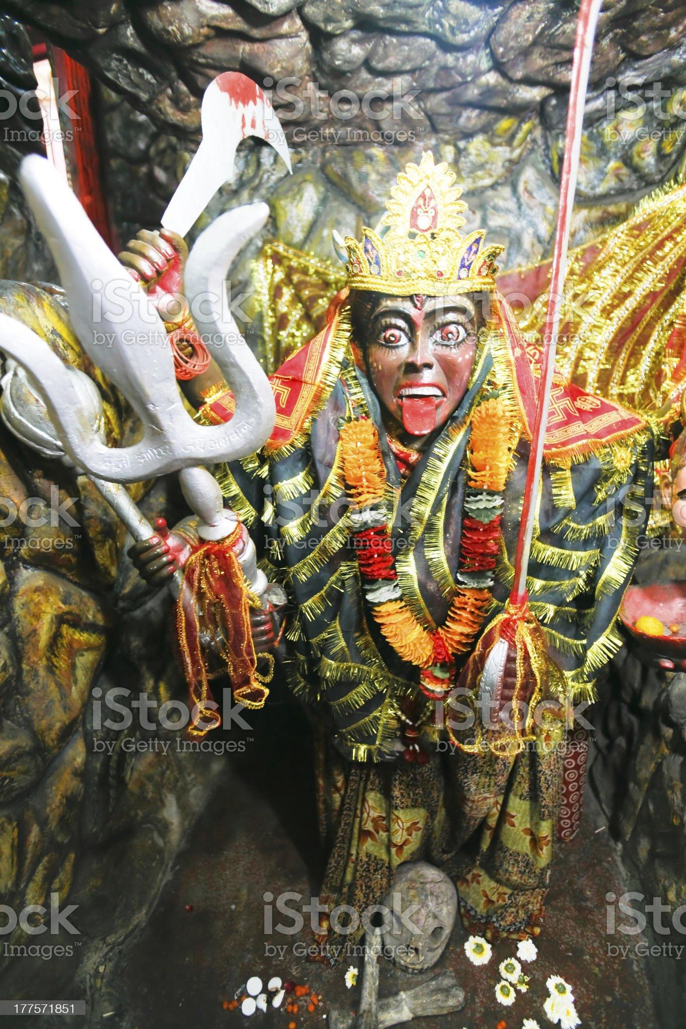 Kali statue royalty-free stock photo