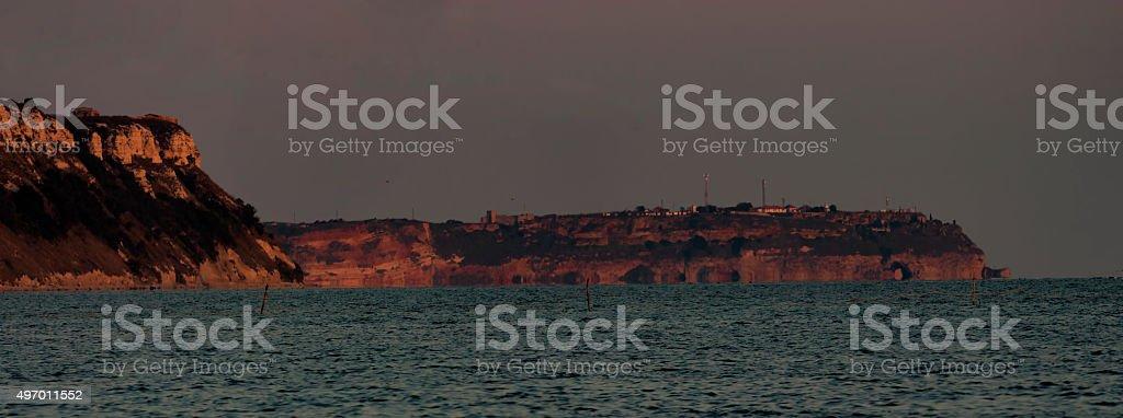 Kaliakra Cape, Bulgaria stock photo
