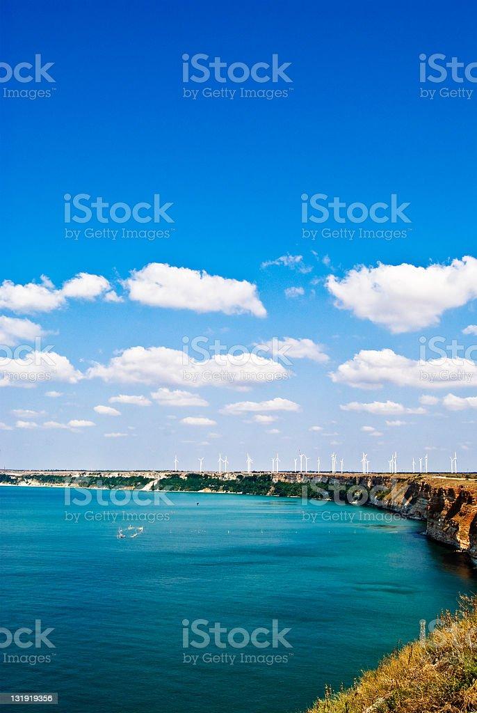 kaliakra coastline stock photo