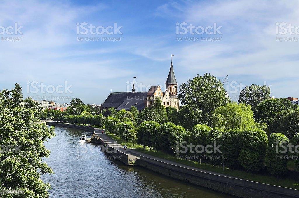 Kaliningrad stock photo