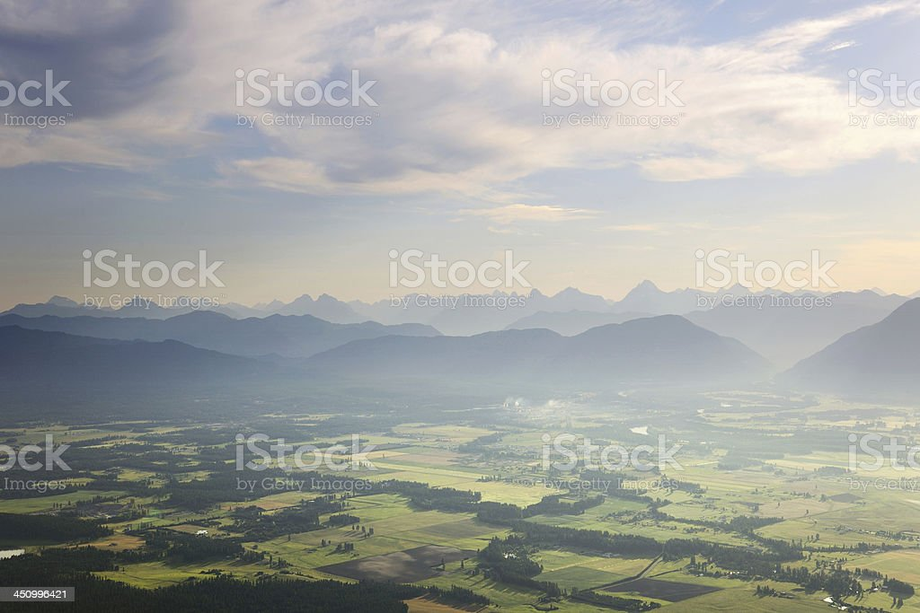 Kalispell, Montana stock photo