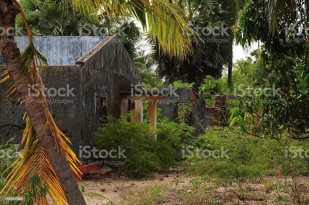 Kalkudah & Passekudah,Sri Lanka. stock photo