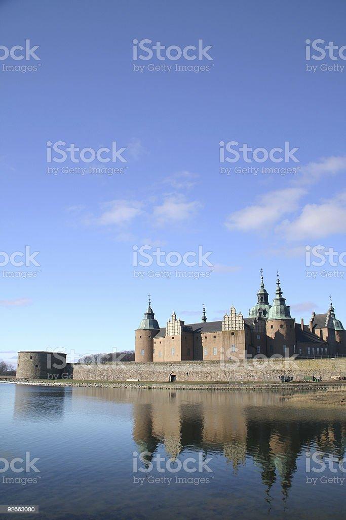 Kalmar castle (vertical) stock photo