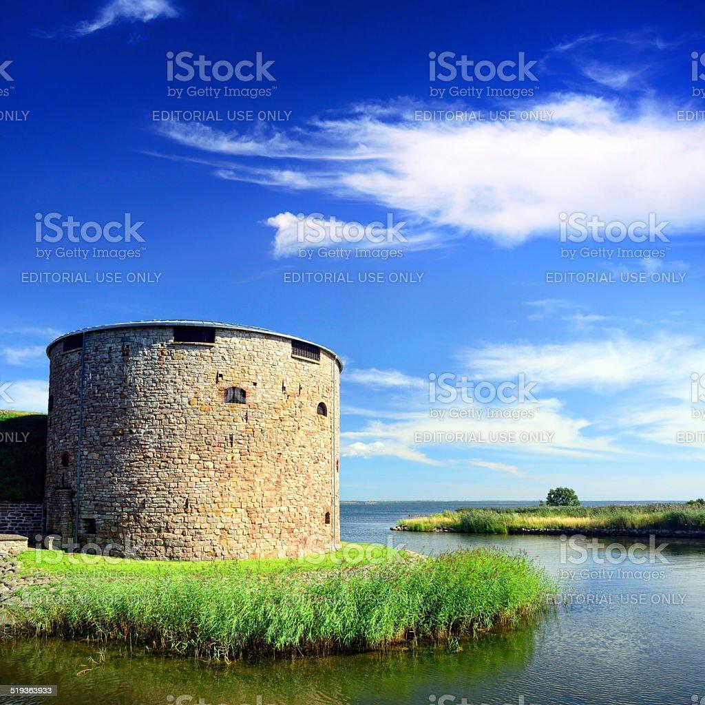 Kalmar castle, Sweden stock photo