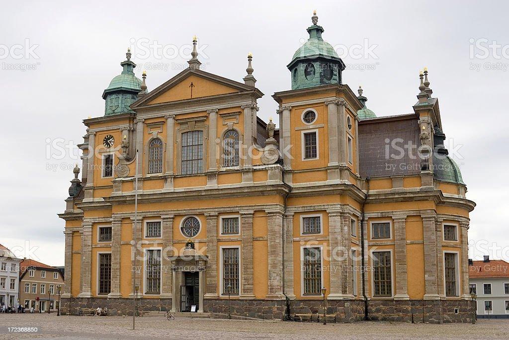 Kalmar Cathedral stock photo
