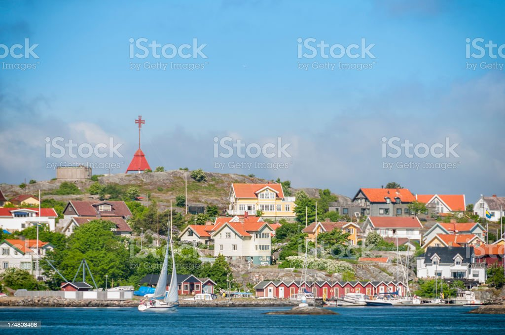 Kalvsund royalty-free stock photo