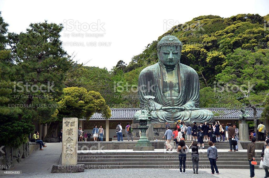 Kamakura, Kanagawa, Japan - MAY 8, 2014 stock photo