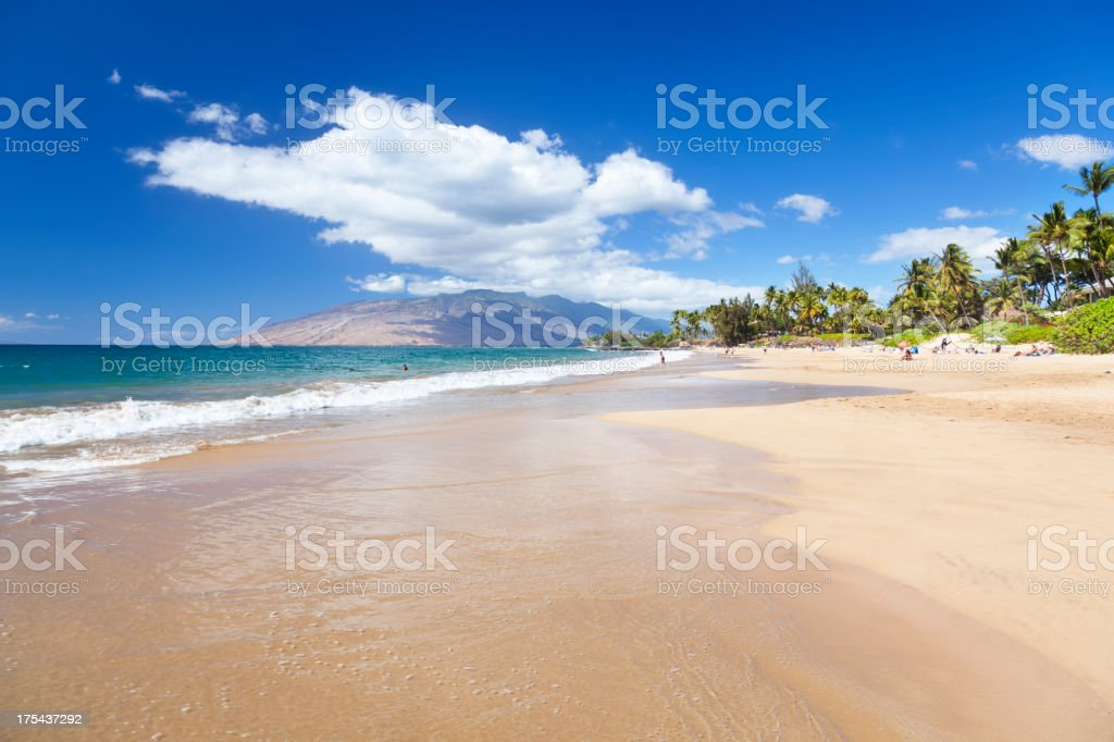 Kamaole Beach, Maui stock photo
