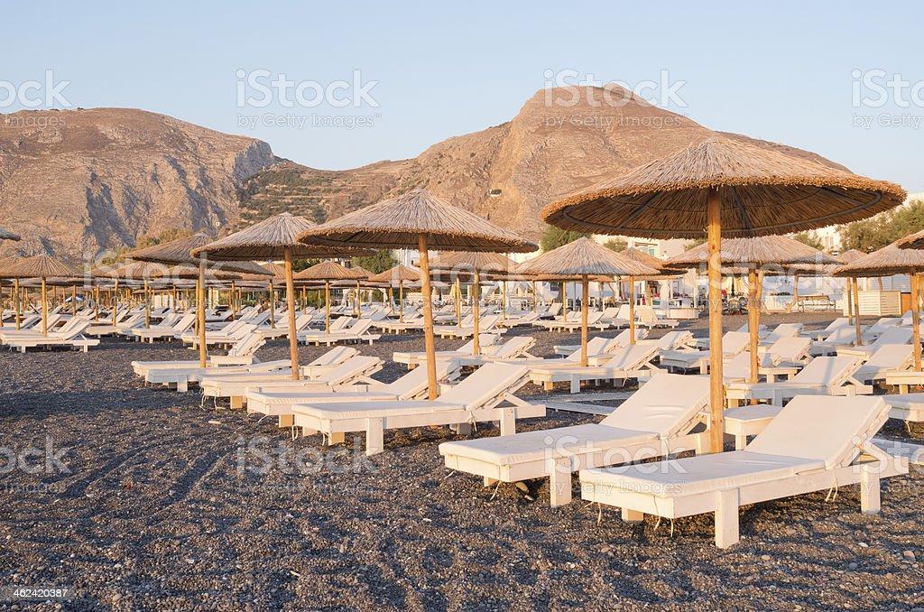 カマリビーチでお楽しみいただけます。 ロイヤリティフリーストックフォト
