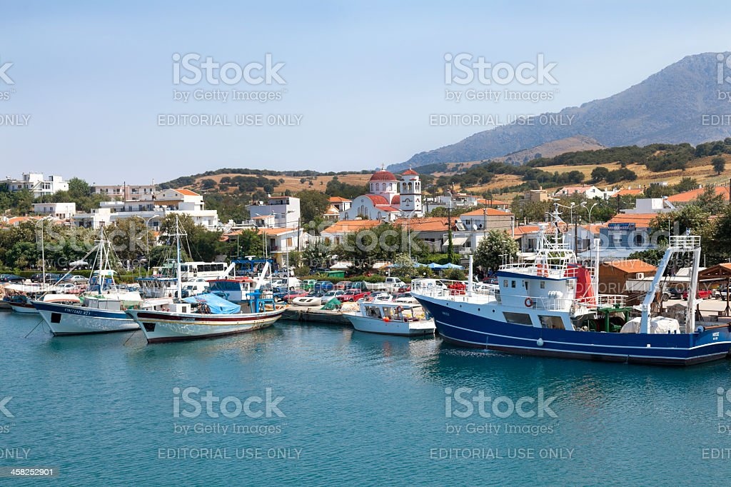 Kamariotissa - Samothace, Greece royalty-free stock photo
