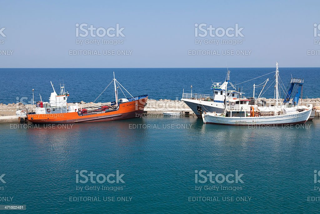 Kamariotissa - Samothace, Greece royalty-free stock photo