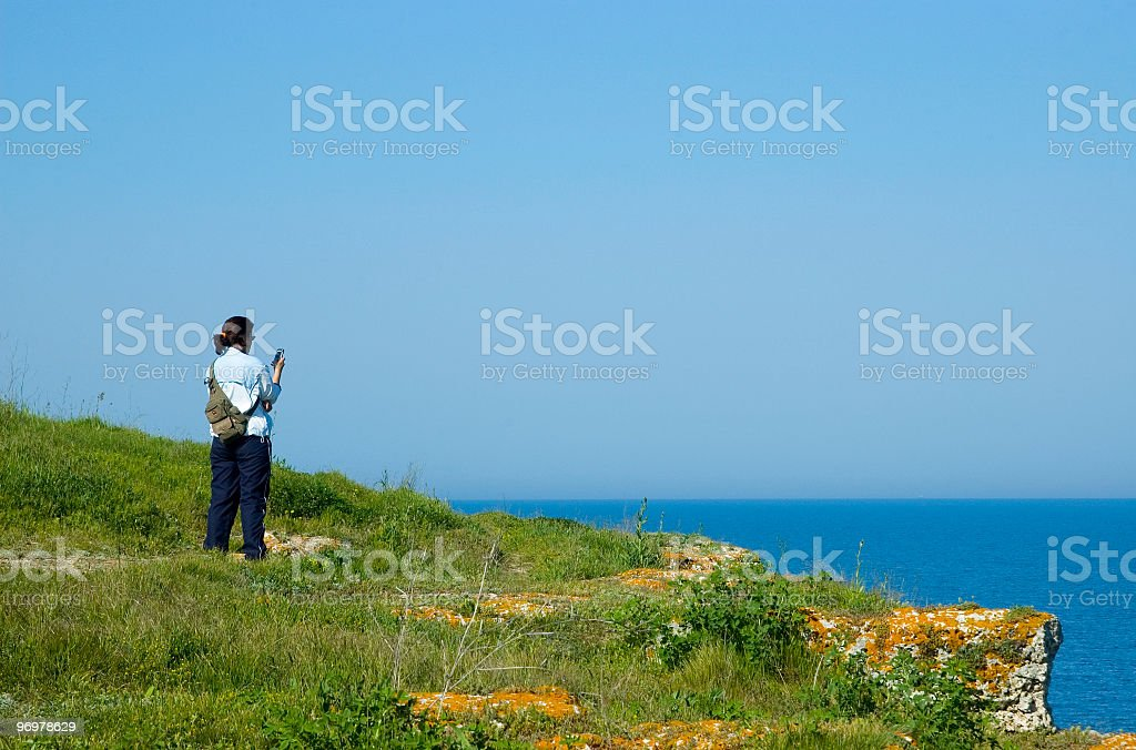 Kamen Bryag shore stock photo