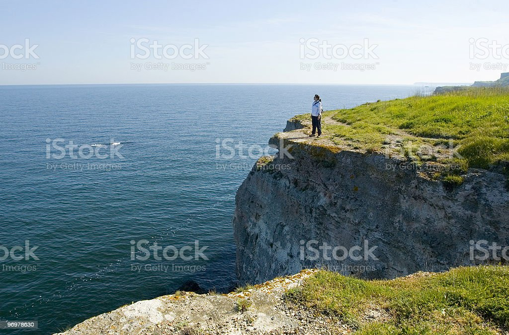 Kamen Bryag shore royalty-free stock photo