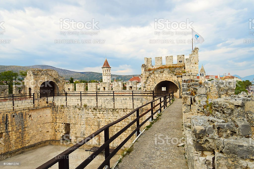 Kamerlengo Castle,  Croatia stock photo