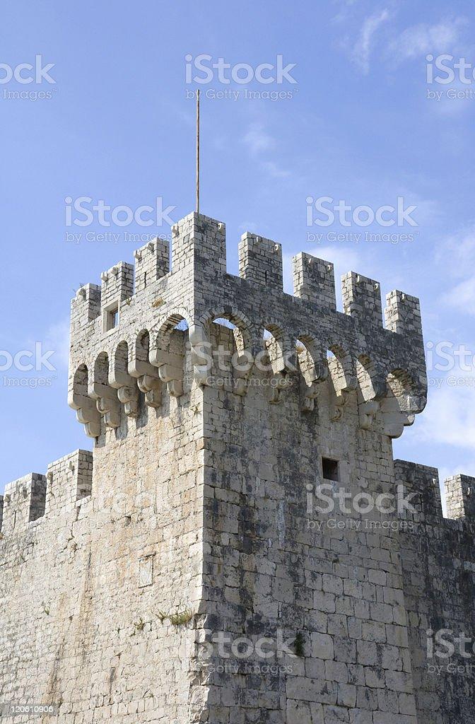 Kamerlengo Castle in Trogir stock photo