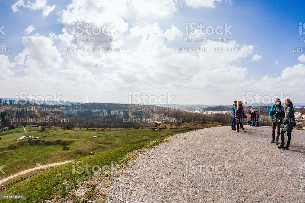 Kamieniolom Liban stock photo