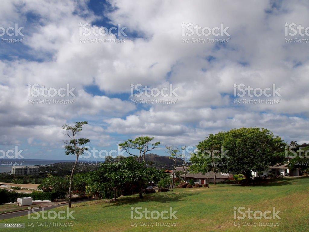 Kamole Mini Park stock photo