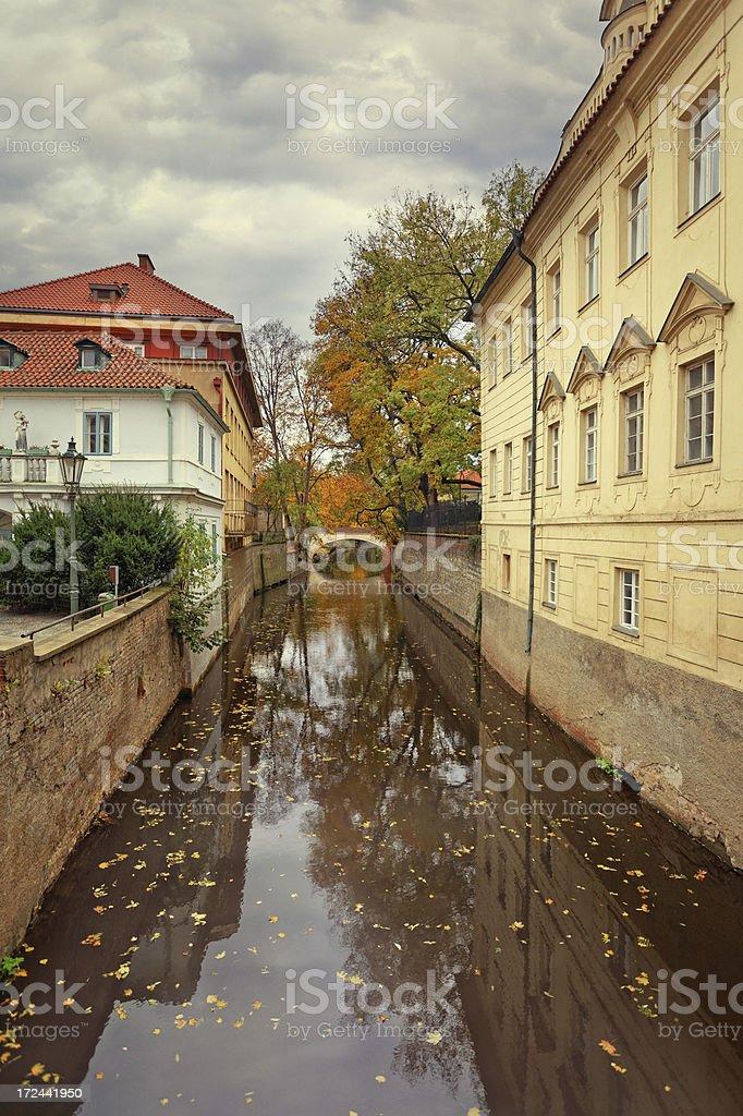 Kampa, Prague royalty-free stock photo