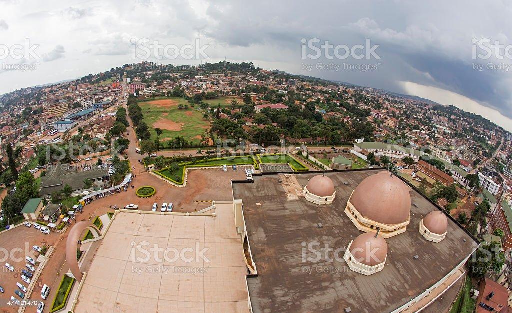 Kampala Cityscape stock photo