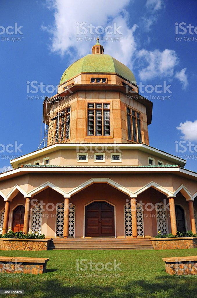 Kampala, Uganda: Bahai Temple royalty-free stock photo