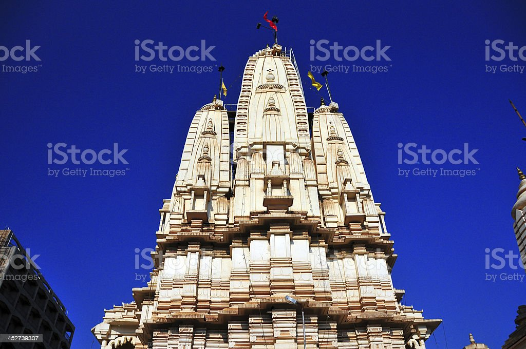 Kampala, Uganda: Hindu Temple, Shree Sanatan Dharma Mandal royalty-free stock photo