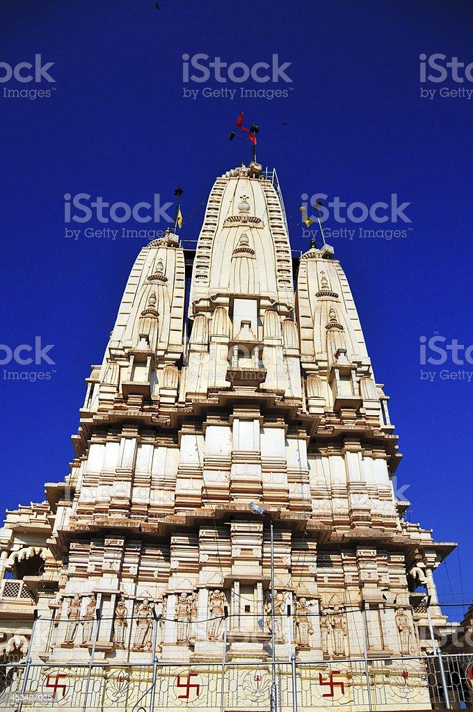 Kampala, Uganda: Hindu Temple, Shree Sanatan Dharma Mandal royalty-free stock photo