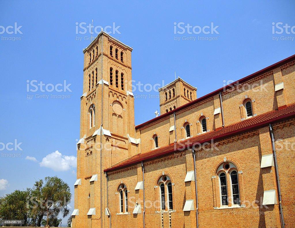 Kampala, Uganda: Rubaga Cathedral stock photo