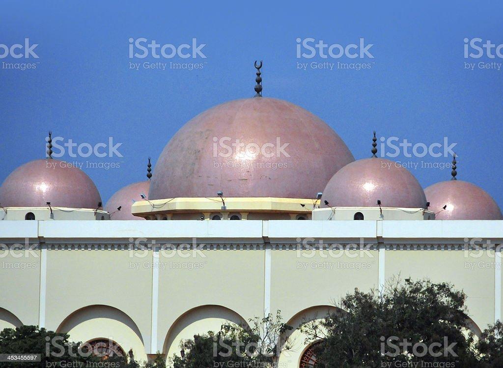 Kampala, Uganda: the National Mosque royalty-free stock photo