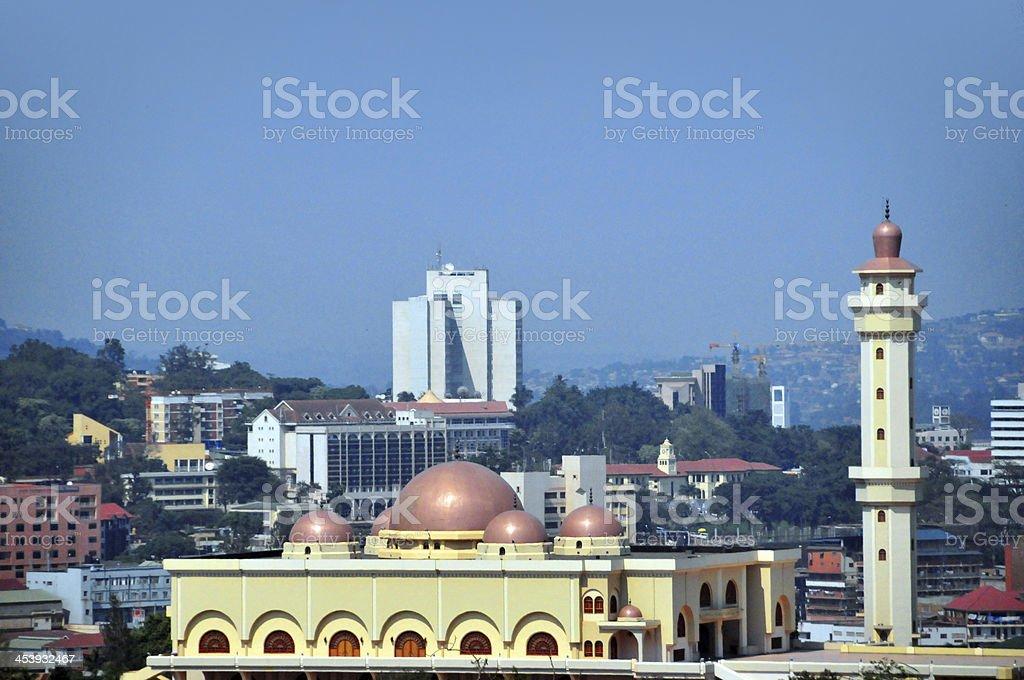 Kampala, Uganda: the National Mosque stock photo