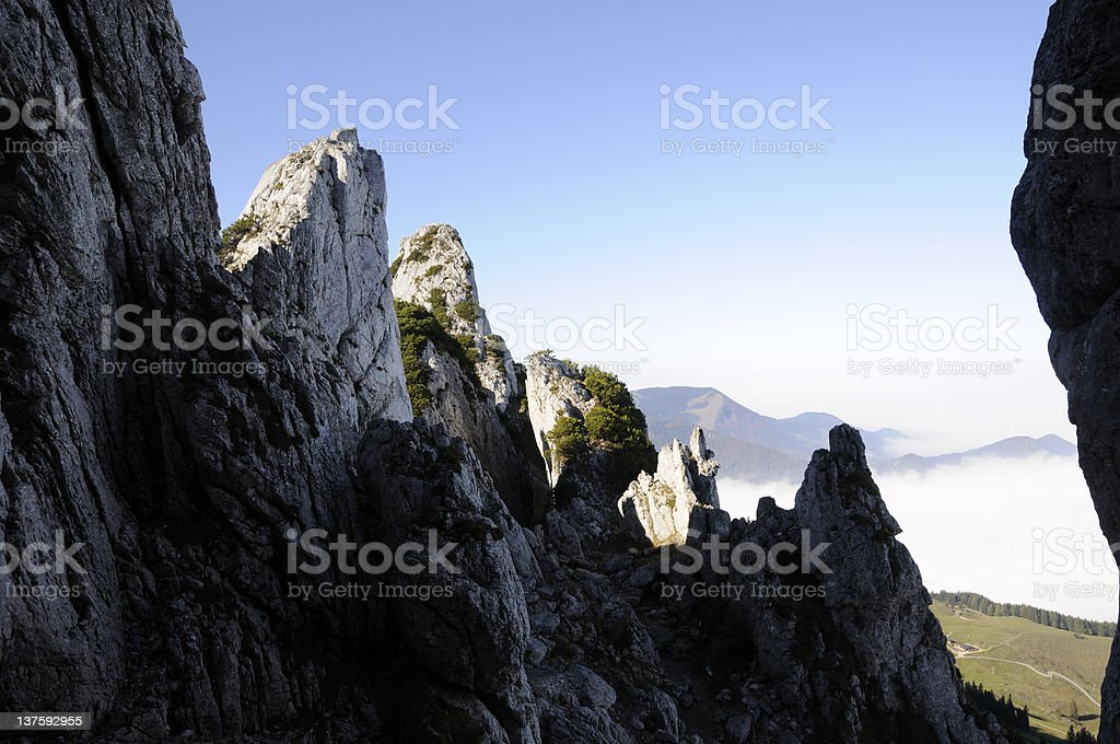 Kampenwand, Bavaria, Germany stock photo