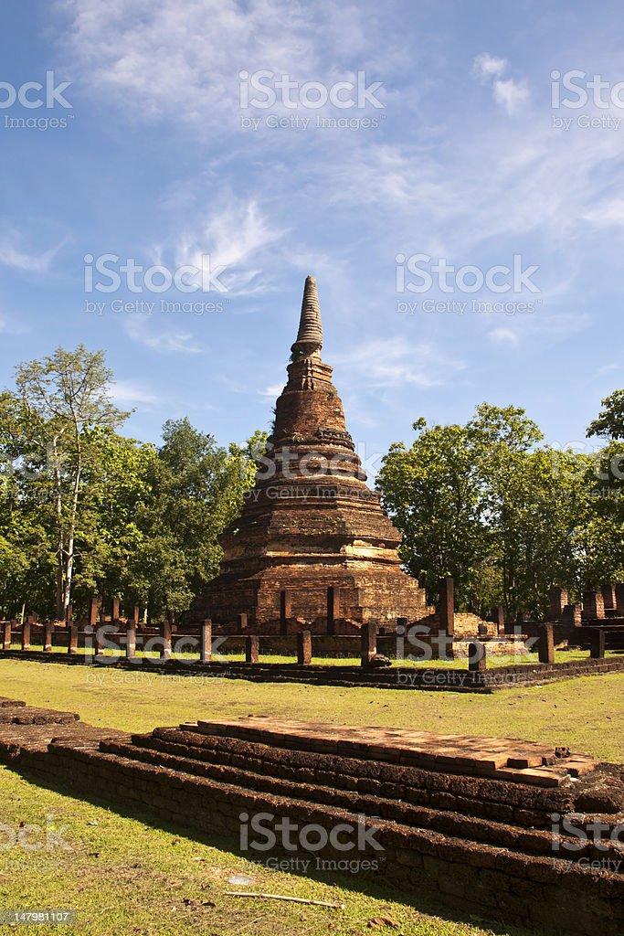 Kamphaeng Phet Historical Park, Tajlandia zbiór zdjęć royalty-free