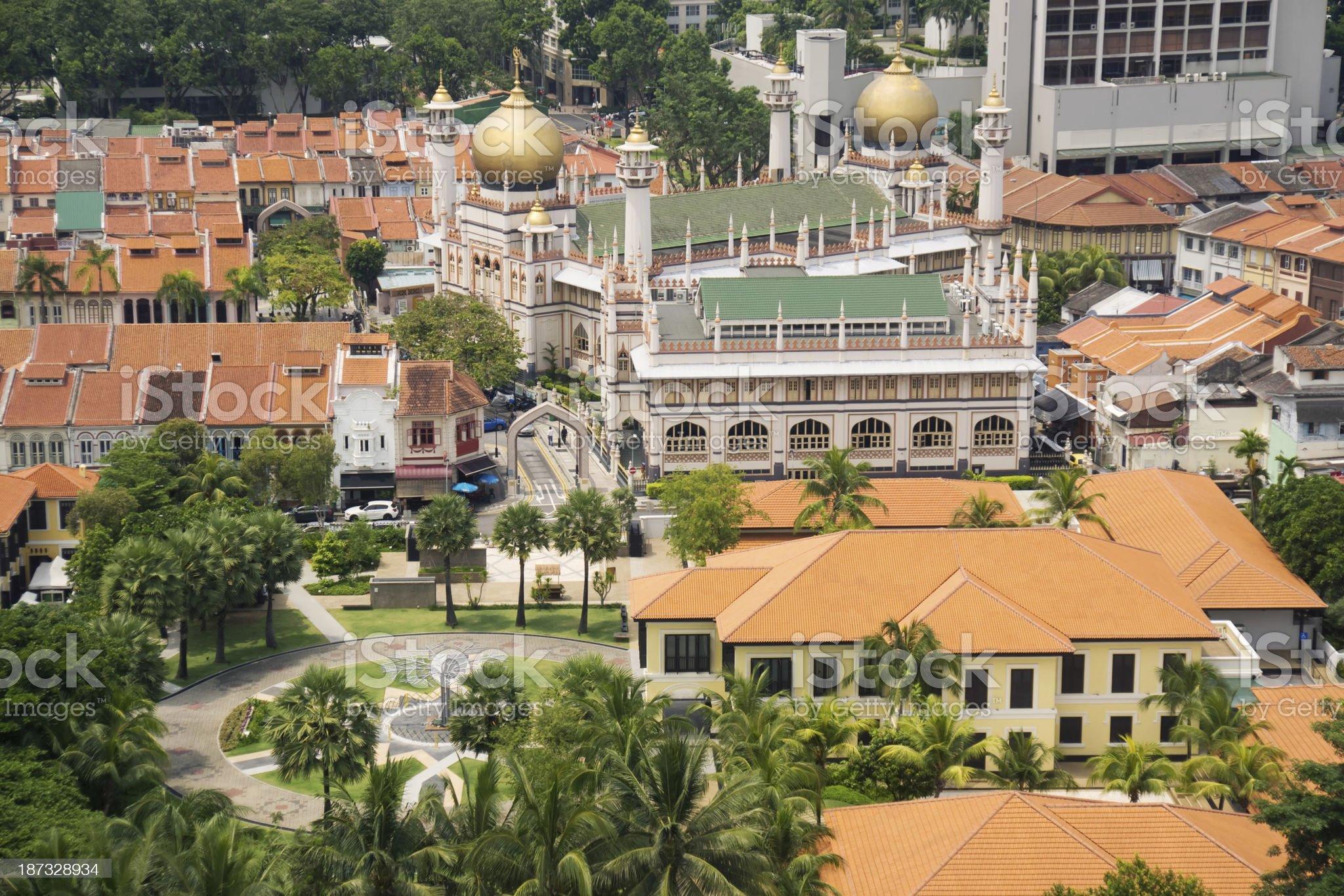 Kampong Glam royalty-free stock photo