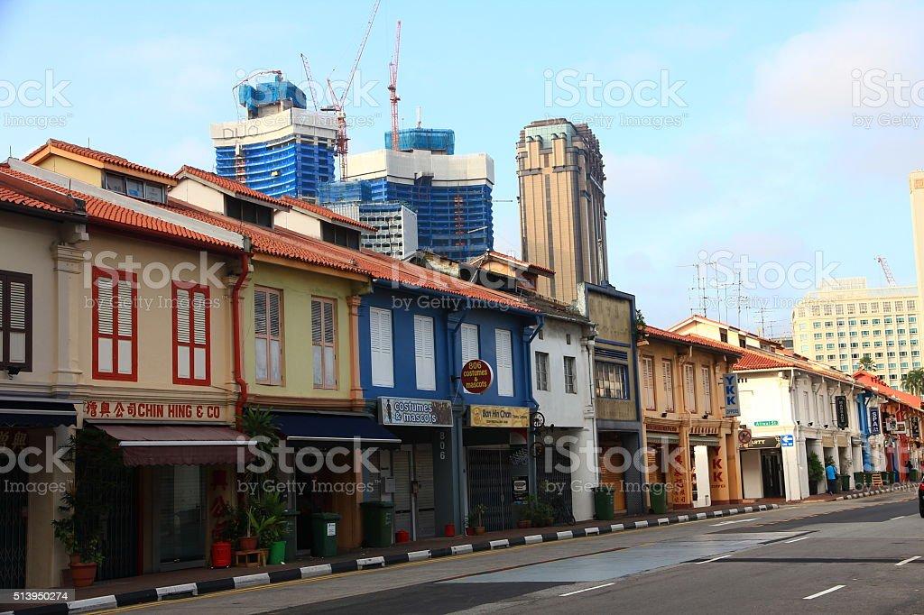 Kampong Glam, Singapore stock photo