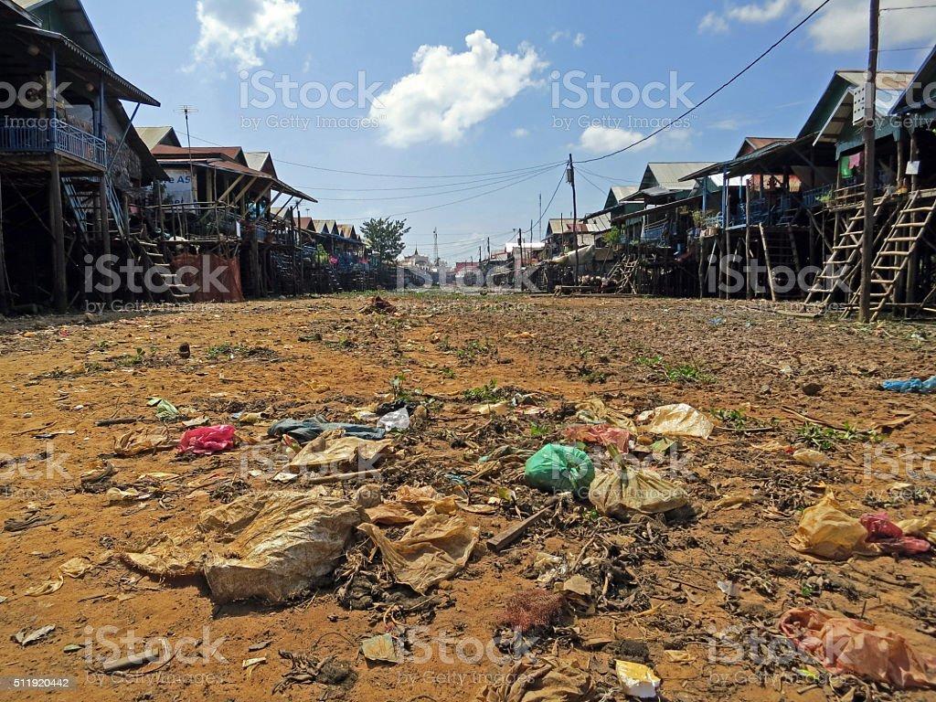 Kampong Phluk, Cambodia stock photo