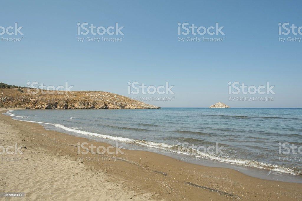 Kampos beach royalty-free stock photo