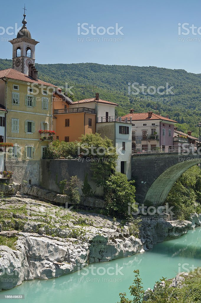 Kanal Slovenia stock photo