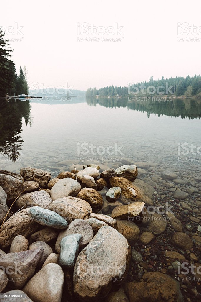 Kananaskis county in Banff National Park - Canada stock photo