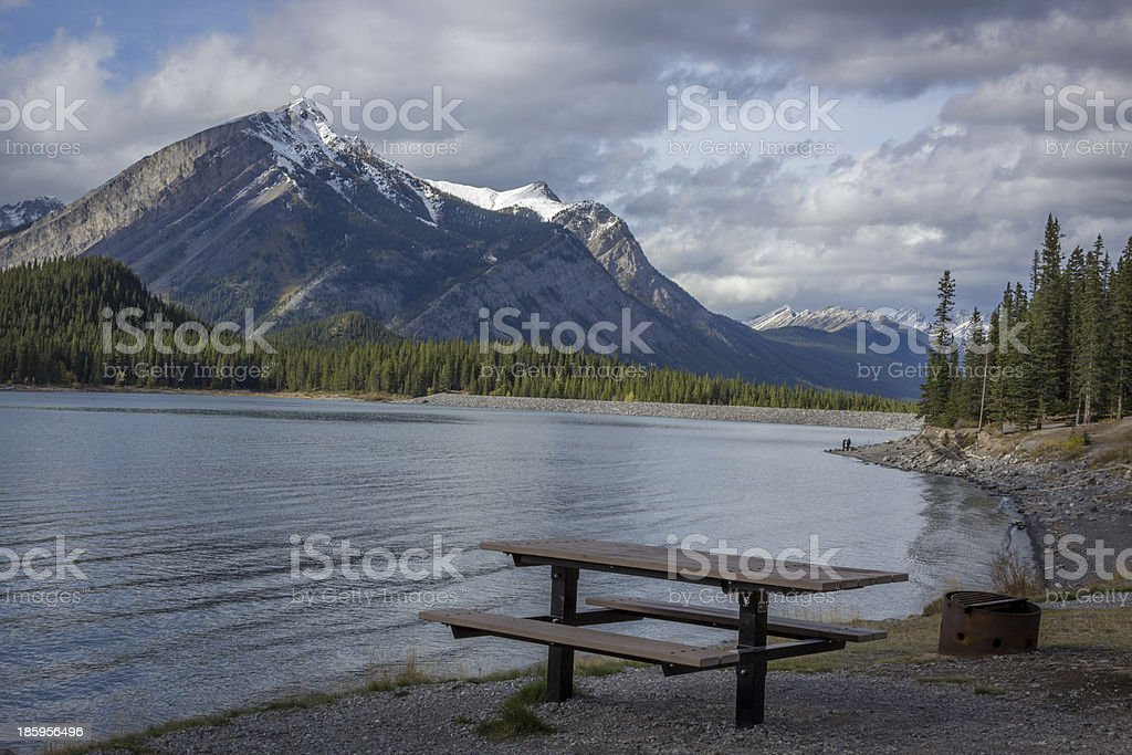 Kananaskis Lakes stock photo