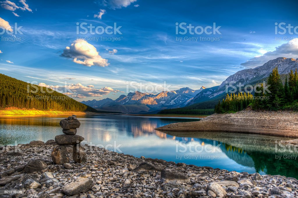 Kananaskis Lakes stock photo