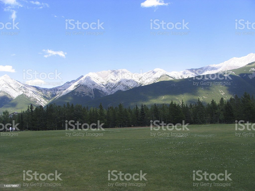 Kananaskis-Mountain View stock photo