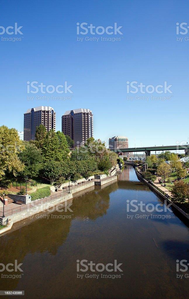 Kanawha Canal stock photo