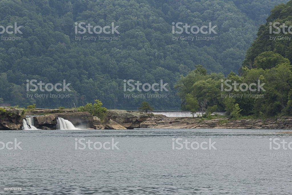Kanawha Falls stock photo