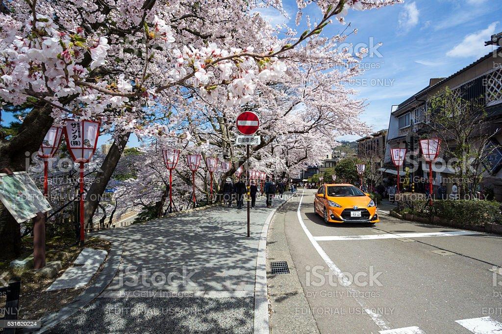 Kanazawa in Ishikawa Prefecture, Japan stock photo