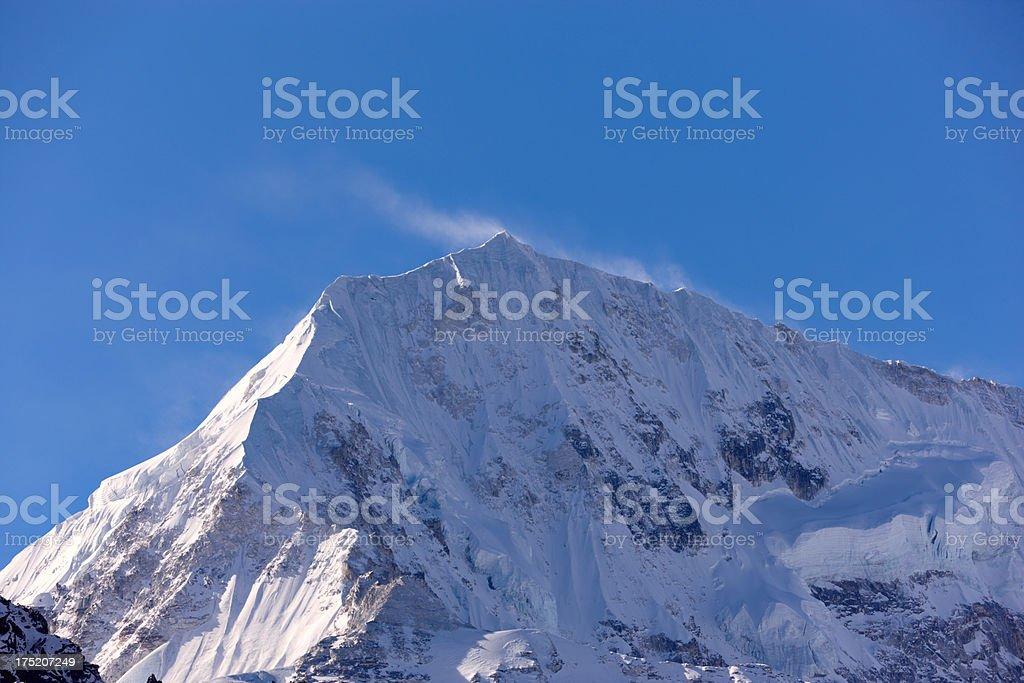 Kanchenjunga. Everest Circuit. Nepal motives royalty-free stock photo
